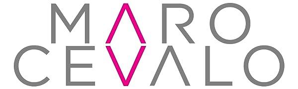 Maro Cevalo vertical logo