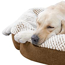 Pet Bed Waterproof Dog Bed Pet Self Warming Beds Round Pet Bed Cat & Dog Bed