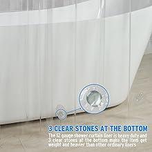 heavier shower curtain liner