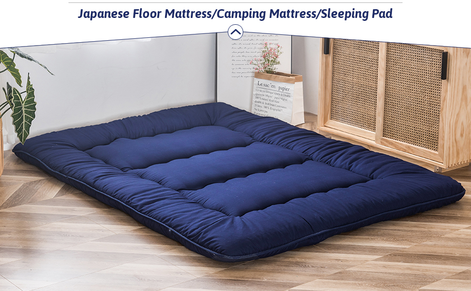 apanese Floor Mattress Futon Mattress, Thicken Tatami Mat Sleeping Pad