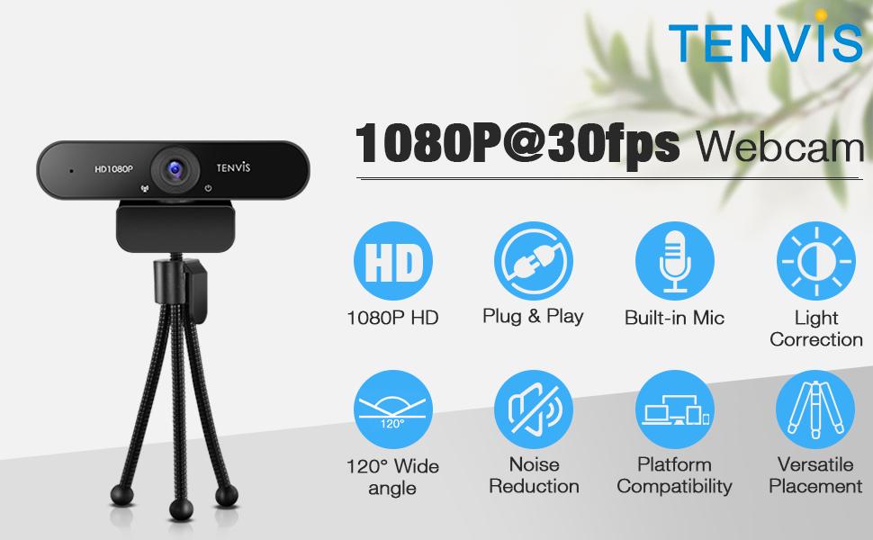 1080p@30fps Webcam