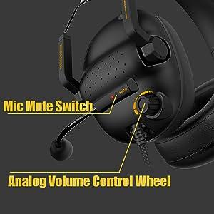 on ear control