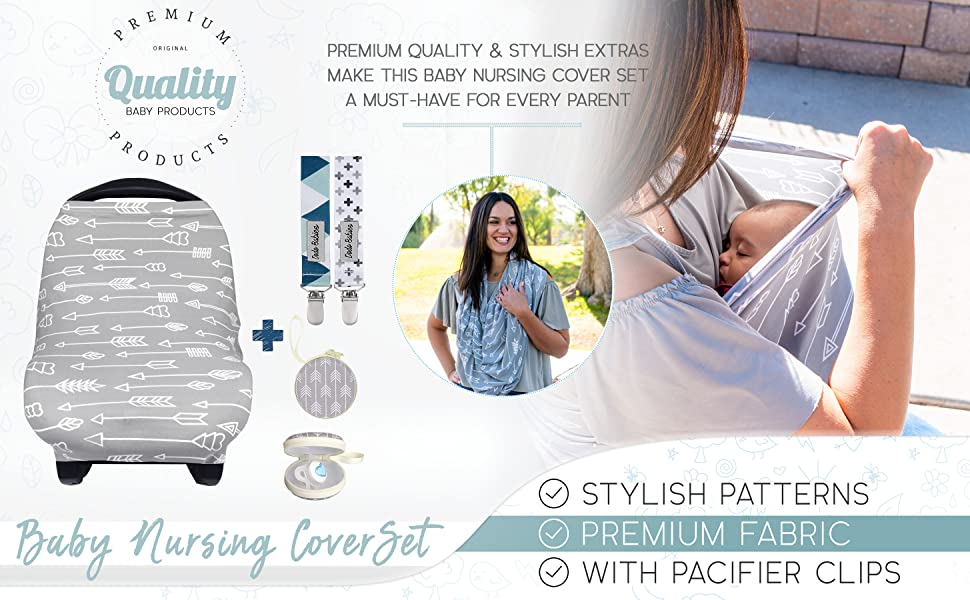 nursing scarf cover baby car seat covers infant for babies stretchy carseat carrier girls boys girl