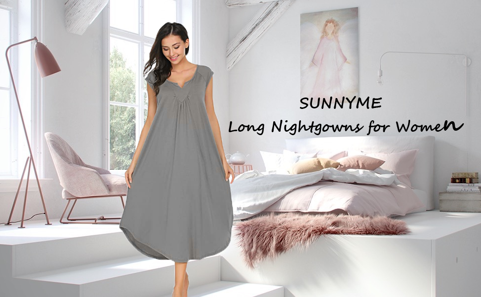 Women's Cotton Nightgown