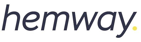 Hemway - Barniz brillante transparente para interiores y exteriores - Secado rápido - Acabado mate - 1 l