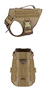 dog tactical harness vest