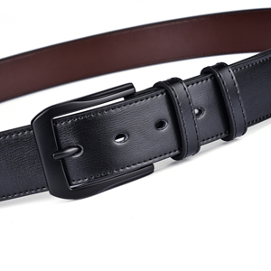 """Fashion Men'S Casual Leather Buckles Belts 1.5"""" Wide Fitting 28-56 Waist Size"""