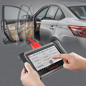 Autel Bi-Directional Control Scan Tool Automotive Scanner- Active Tests