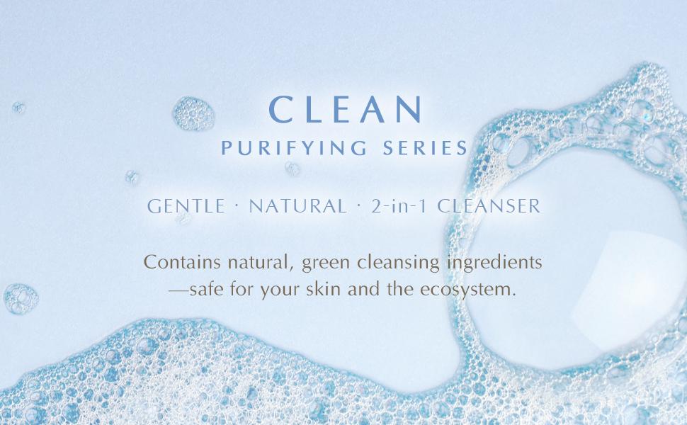 Inna Organic clean beauty pure green cleanser EWG verified COSMOS sensitive skin cruelty free Taiwan