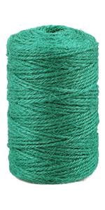 green jute twine