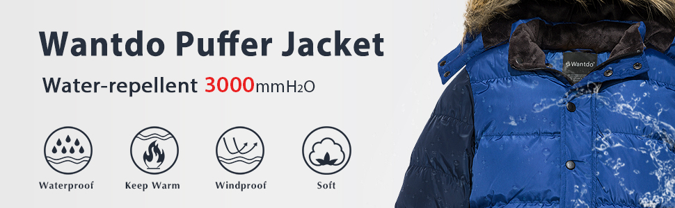 Boy's Puffer Jacket