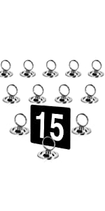 Ring Clip Table Number Holder