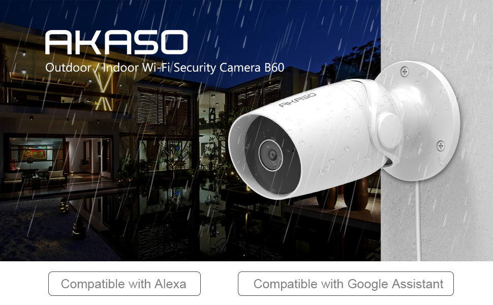 Outdoor Indoor WiFi Security Camera
