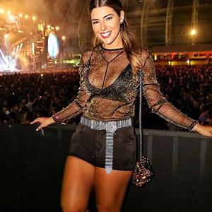 JASGOOD Women Crystal Rhinestone Chain Waist Belt Sparkle Waistband Waist Chain for Party Club
