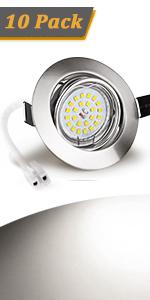 led spot encastrable 2800k 2700k lumiere blanche chaude 6w 50w spot encastrable orientable gu10 led