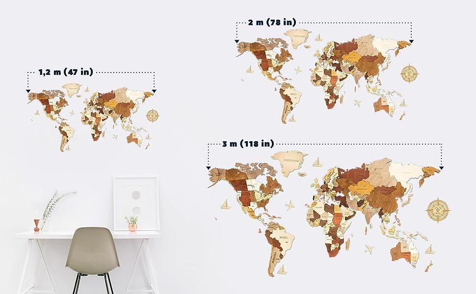 Map Sizes