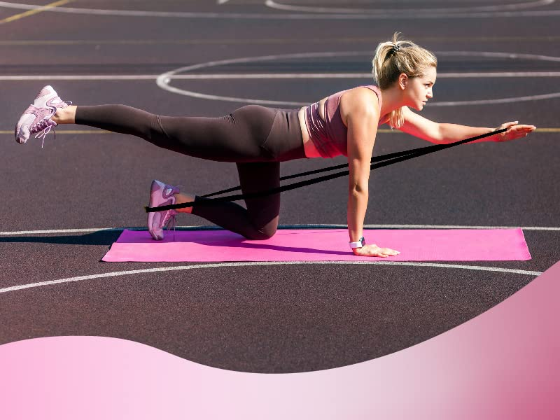Whether you're a beginner or a pro, GYMBee resistant bands for women booty will help you step up
