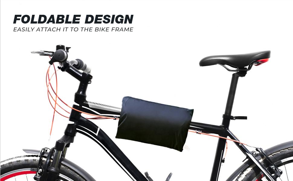 HDE Bike Cover Waterproof Outdoor Storage Heavy Duty Bicycle Covers for Electric Bike Mountain Bikes Beach Cruiser BMX Bikes
