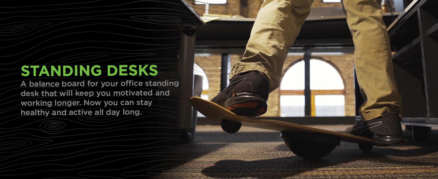 standing desk balance board