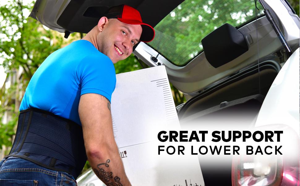 back support belt for men