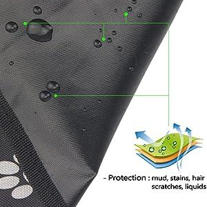 waterproof car trunk cover