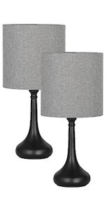 Lot de 2 lampes de table.