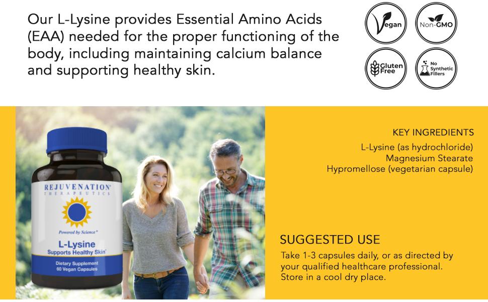 L-Lysine (lysine) is an essential amino acid
