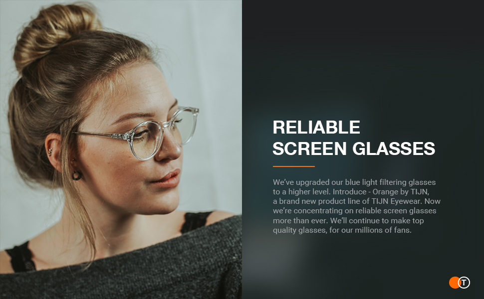 TIJN 2 Pack Blue Light Blocking Glasses Vintage Round Computer Glasses Anti Blue Ray for Women Men