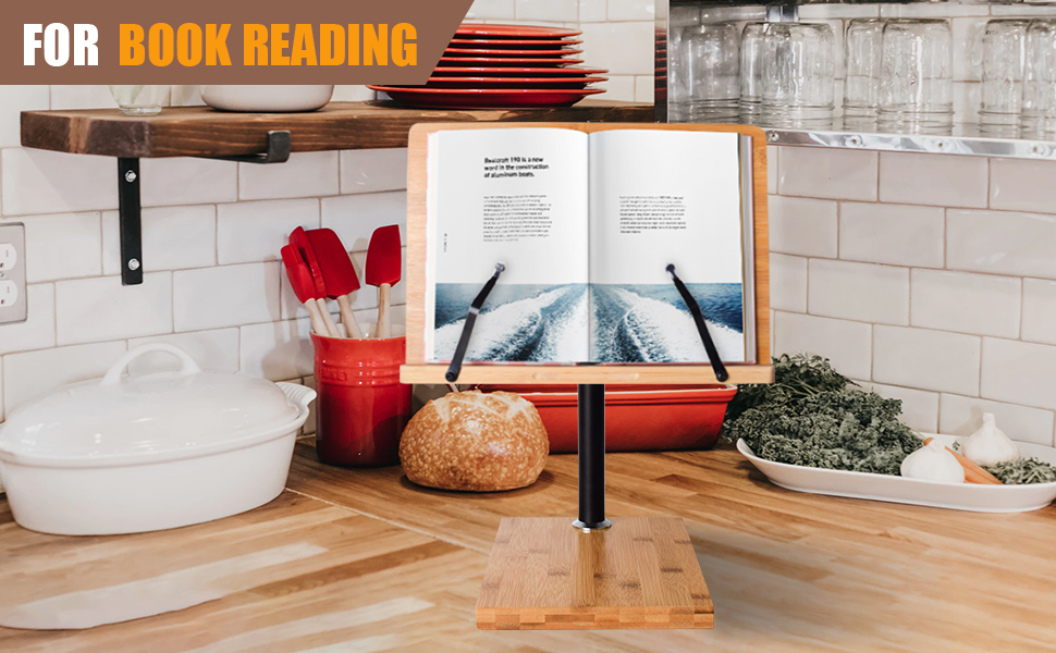 book reading stand holder height adjustable