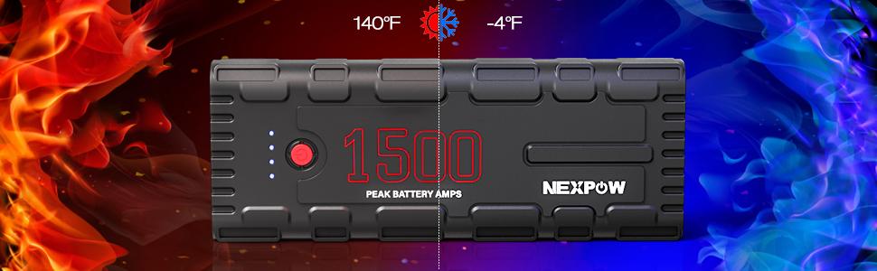 Battery starter for car