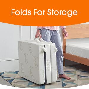 Folds for Storage