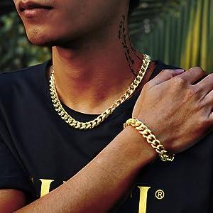 Curb Cuban Chain Necklace