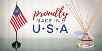 All Natural Scented Reed Diffuser oil and Reed Sticks Made in the USA by a Small Business