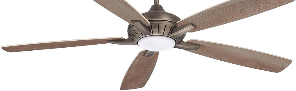 """Minka-Aire, 60"""", Dyno XL,  F1001-HBZ, Heirloom Bronze, Ceiling Fan, Bond, Smart Fan, LED"""