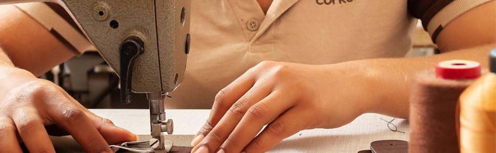cork belt production