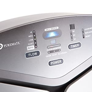PureMate Multiple True Technologies HEPA Purificador de Aire e ...
