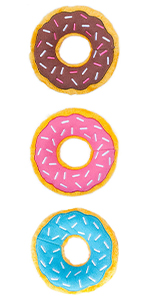 3 Pack of Donutz Toys