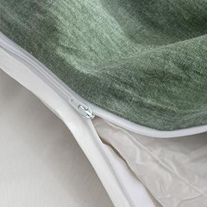 durable high quality YKK zipper closure easy to zip smooth stain steel hidden zipper closure