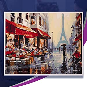 paris painting diy large plot prime set easel board numbered christmas eifel eiffel tower