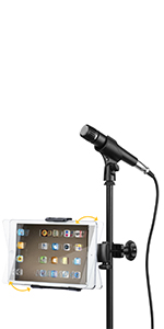 Moukey Mmsph-1 Mic Stand Tablet Holder/ Phone Holder