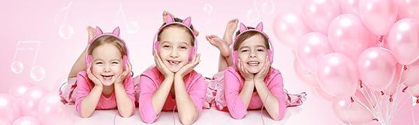 iClever Kids Headphones Girls