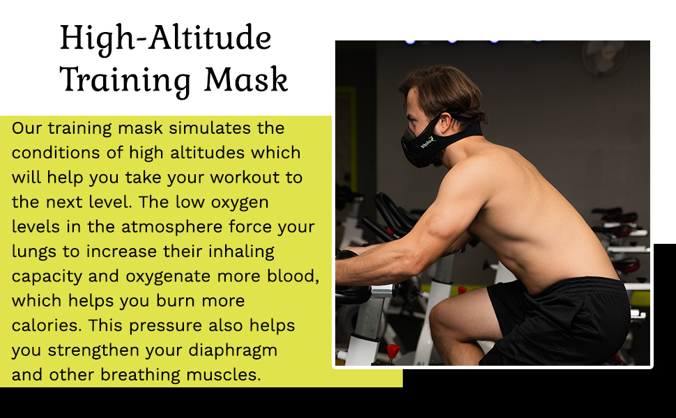 This bane mask is ideal for running.