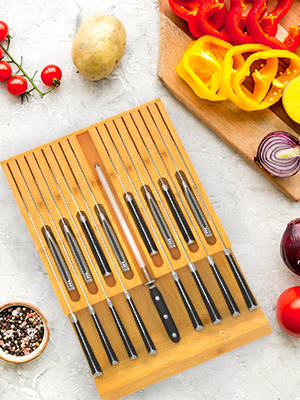 knife organizer drawer