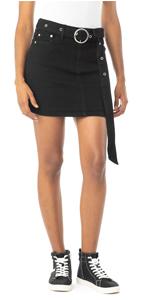 belted denim skirt, denim skirt, denim skirt with belt, jean skirt, denim mini skirts