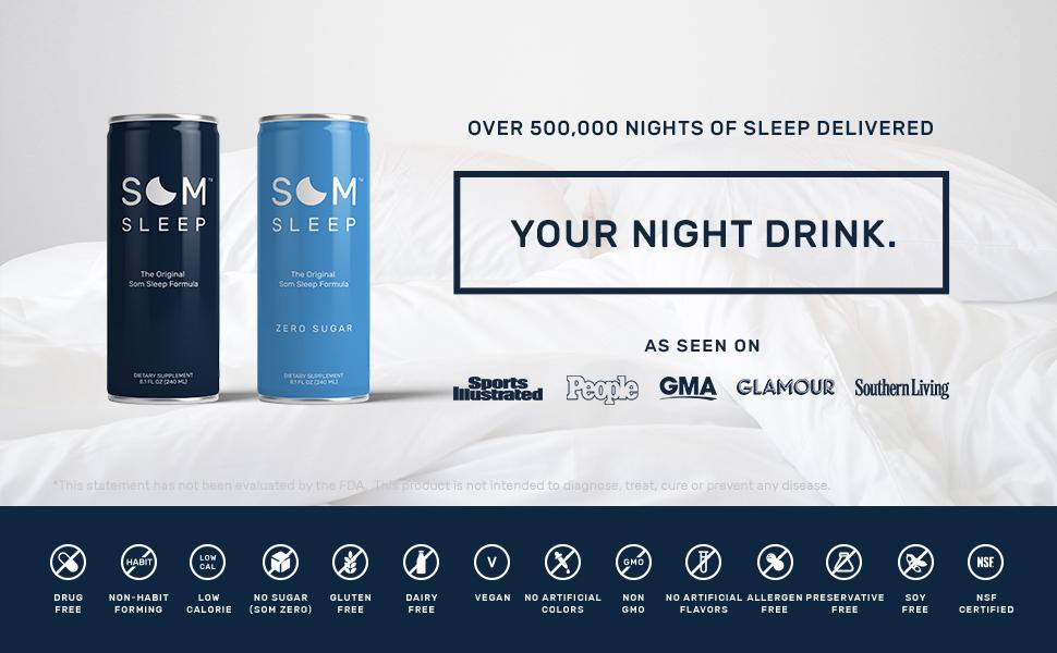 Amazon.com : Som Sleep, The Original Sleep Support Formula w ...
