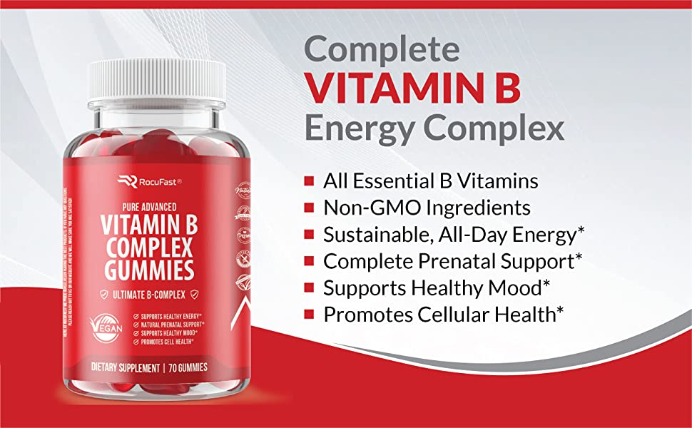 Vitamin B, Vitamin B Gummies, Vitamin B Gummies, Vitamin B Energy, Vitamin B Complex, Energy Capsule