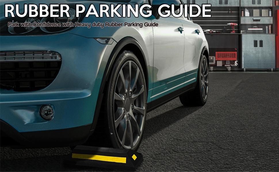 Heavy Duty Rubber Parking Guide - 1 Pc