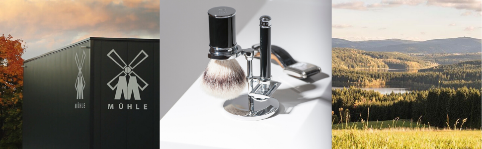 sustainable products razors and brushes