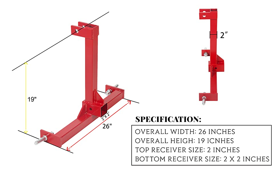 0 3 dimensions hitch category point Double HH