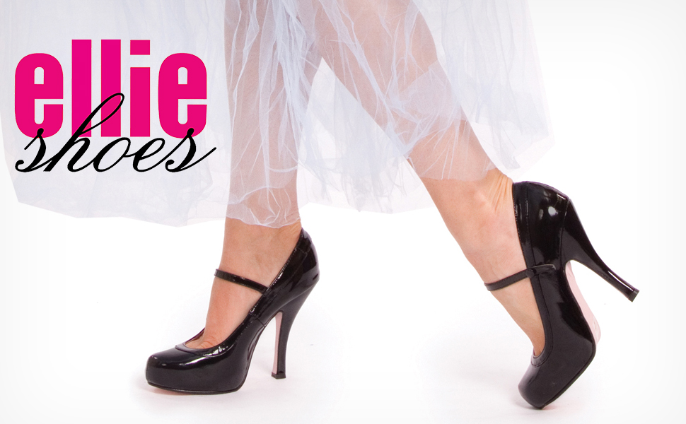 "Ellie Shoes Women's Babydoll 4"" Heel Pointy Toe Pump."